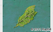 Satellite Map of Isle of Man