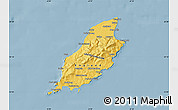 Savanna Style Map of Isle of Man