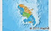 Political Map of Martinique