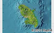 Satellite Map of Martinique