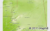Physical 3D Map of Adrar