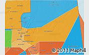 Political Shades 3D Map of Adrar