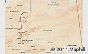 Satellite 3D Map of Adrar