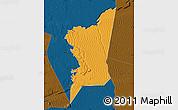 Political Map of Boumdeid, darken