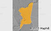 Political Map of Boumdeid, desaturated
