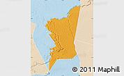 Political Map of Boumdeid, lighten