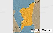 Political Map of Boumdeid, semi-desaturated