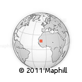 Outline Map of Boumdeid