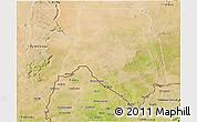 Satellite 3D Map of Kankossa