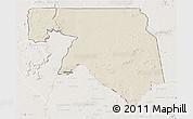 Shaded Relief 3D Map of Kankossa, lighten