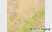 Satellite Map of Kankossa