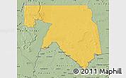 Savanna Style Map of Kankossa