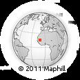 Outline Map of Kankossa