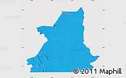Political Map of Kiffa, cropped outside