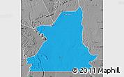 Political Map of Kiffa, desaturated