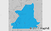 Political Map of Kiffa, lighten, desaturated