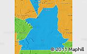 Political Map of Kiffa