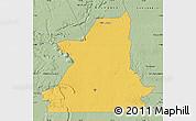 Savanna Style Map of Kiffa