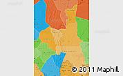 Political Shades Map of Assaba