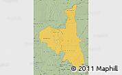 Savanna Style Map of Assaba