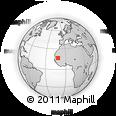 Outline Map of Assaba