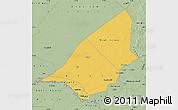 Savanna Style Map of Brakna