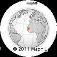 Outline Map of Brakna