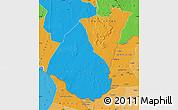 Political Map of Guidimaka