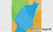 Political Shades Map of Guidimaka