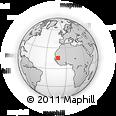 Outline Map of Guidimaka