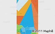 Political Shades 3D Map of Hodh ech Chargui