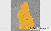 Political Map of Djigueni, desaturated