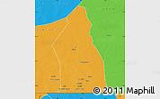 Political Map of Djigueni