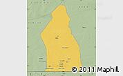 Savanna Style Map of Djigueni