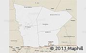 Classic Style 3D Map of Hodh el Gharbi