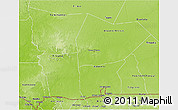 Physical 3D Map of Hodh el Gharbi