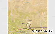 Satellite 3D Map of Kobenni
