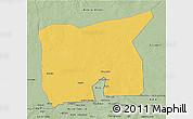 Savanna Style 3D Map of Kobenni