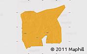 Political Map of Kobenni, cropped outside
