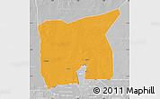 Political Map of Kobenni, lighten, desaturated