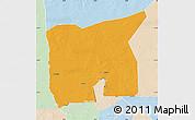 Political Map of Kobenni, lighten