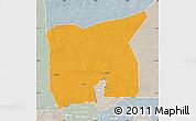 Political Map of Kobenni, lighten, semi-desaturated