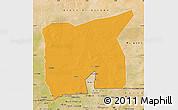 Political Map of Kobenni, satellite outside