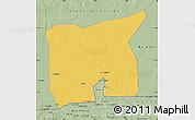 Savanna Style Map of Kobenni