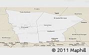 Classic Style Panoramic Map of Hodh el Gharbi