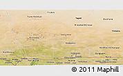 Satellite Panoramic Map of Hodh el Gharbi