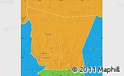 Political Map of Tamchekket