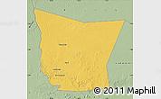 Savanna Style Map of Tamchekket