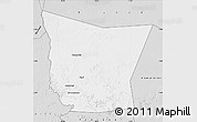 Silver Style Map of Tamchekket