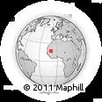 Outline Map of Tamchekket